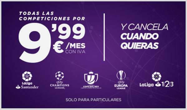comparativa ofertas futbol movistar vs orange vs vodafone movistar bein connect