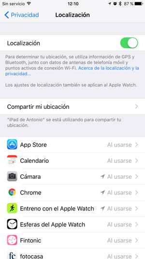 consejos ahorrar batería iPhone gps 2