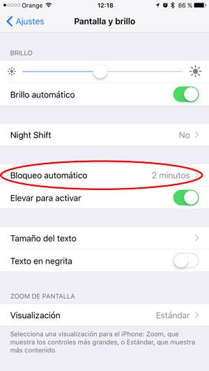 consejos ahorrar batería iPhone bloqueo 1