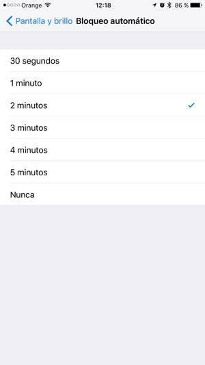 consejos ahorrar batería iPhone bloqueo 2