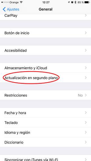 consejos ahorrar batería iPhone actualiza 1