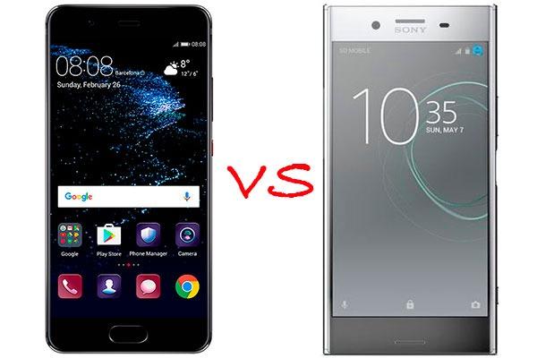 Comparativa Huawei P10 vs Sony Xperia XZ Premium