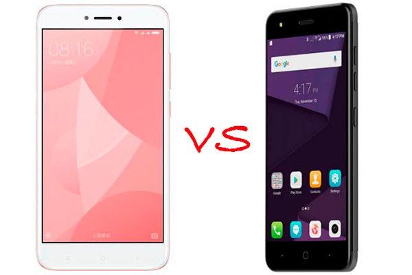Comparativa ZTE Blade V8 Lite vs Xiaomi Redmi 4X