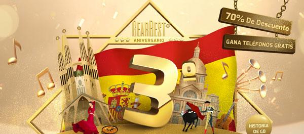 Las mejores ofertas del tercer aniversario de Gearbest