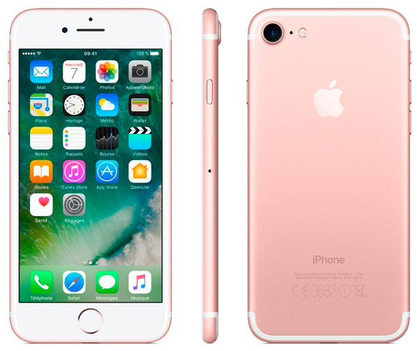 iphone 7 oro rosa