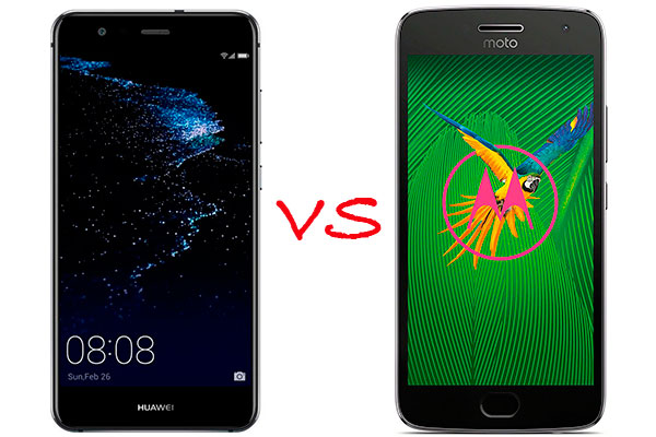Comparativa Huawei P10 Lite vs Moto G5 Plus