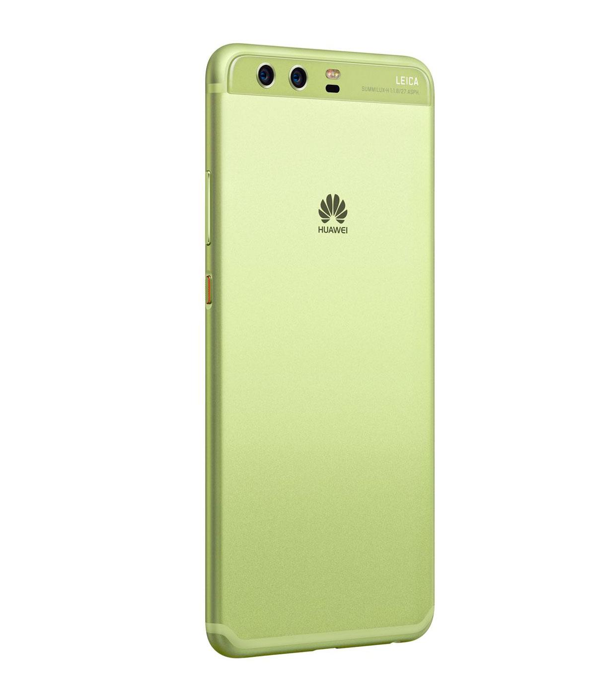 huawei p10 plus trasera verde