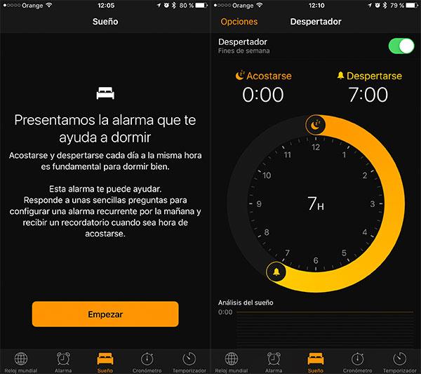 10 trucos iphone 7 dormir