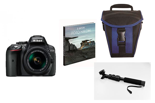 ofertas semana internet carrefour Nikon D5300