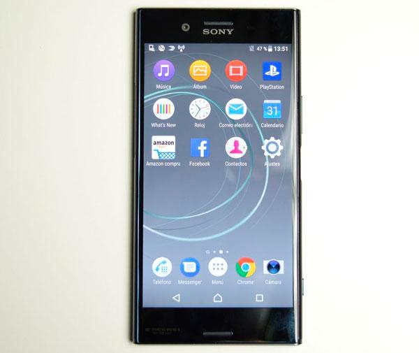 5 diferencias entre el Sony Xperia XZ y el Sony Xperia XZ Premium pantalla XZ Premium