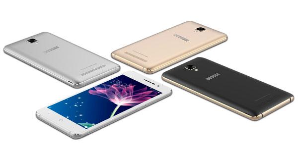 5 móviles de Doogee por menos de 100 euros en Amazon