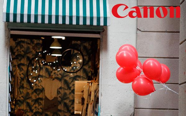 Consigue vales de regalo al comprar equipos de Canon