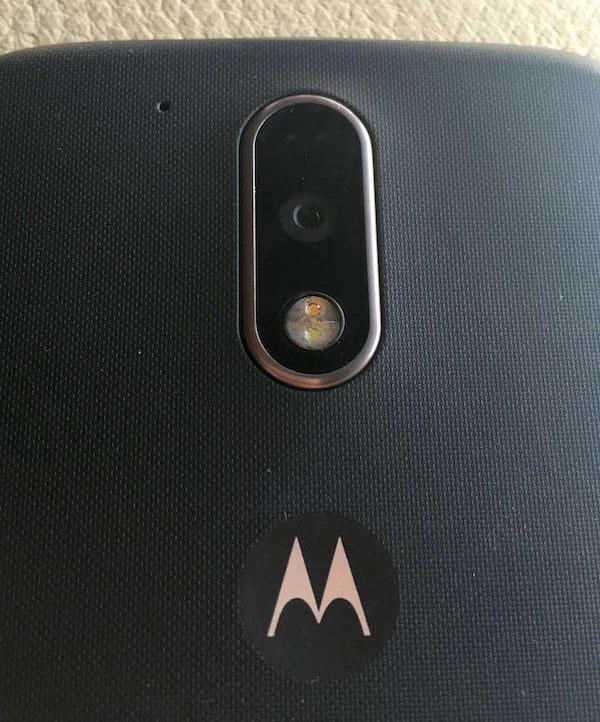 oferta Motorola Moto G4 Plus Amazon camara trasera