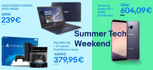 Las mejores ofertas del Summer Tech Weekend de eBay