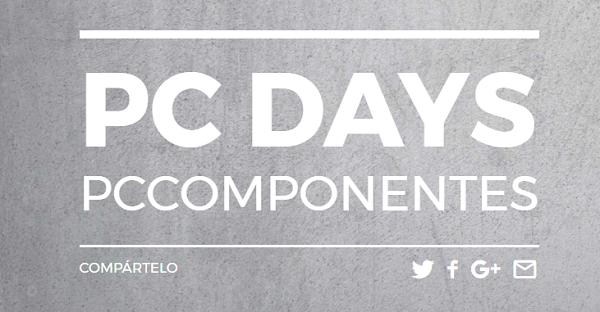 PcDays, rebajas de hasta el 70% en ordenadores de PcComponentes