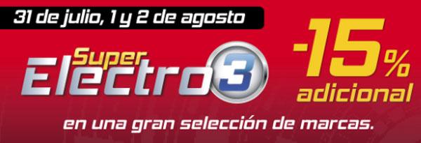 Las mejores ofertas del Super Electro3 de El Corte Inglés