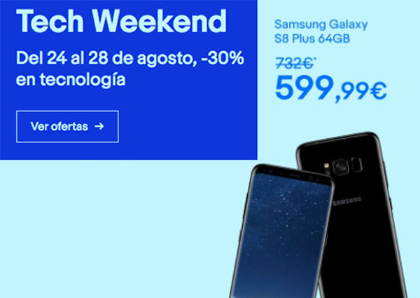 Ofertas de eBay por la Tech Weekend