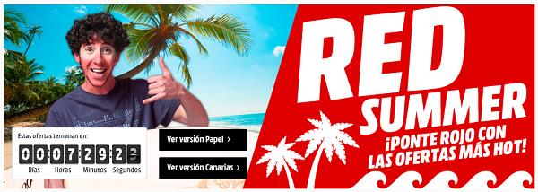 5 ofertas en móviles y PC de Media Markt por Red Summer