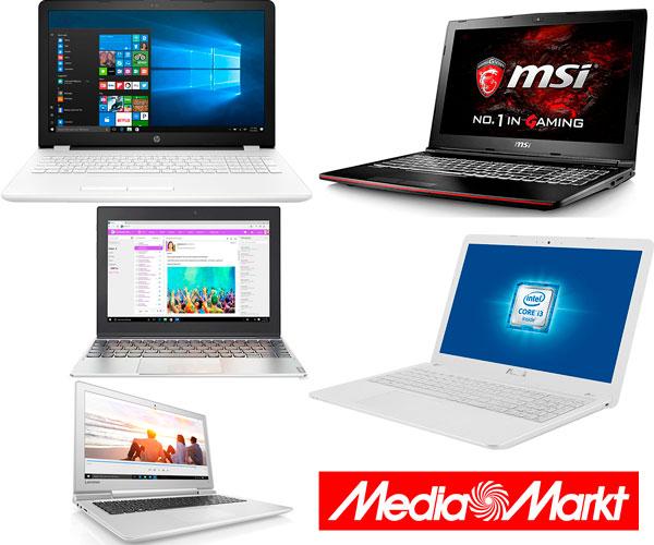 5 portátiles con buen precio que puedes comprar en Media Markt
