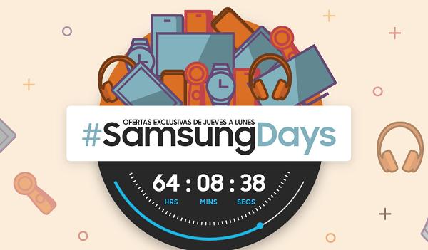 Samsung Days, móviles Samsung Galaxy J, altavoces y tele con descuento