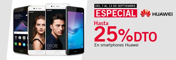 Especial Huawei en Phone House, hasta un 25% de descuento en móviles