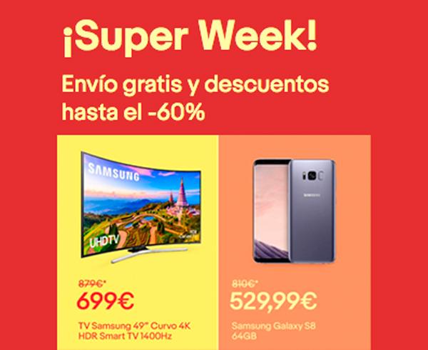 Las mejores ofertas de la Super Week de eBay