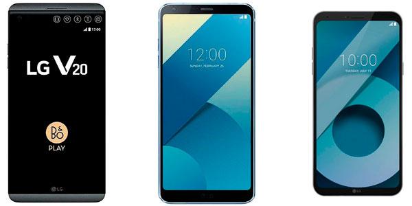 LG G6, LG V20 o LG Q6, 5 gangas de móviles LG para comprar en eBay