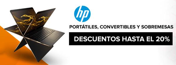 Ofertas de PC de sobremesa y portátiles HP en PcComponentes