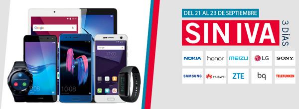 Honor 9 y Samsung Galaxy S7 edge, rebajados en los días sin IVA de Phone House