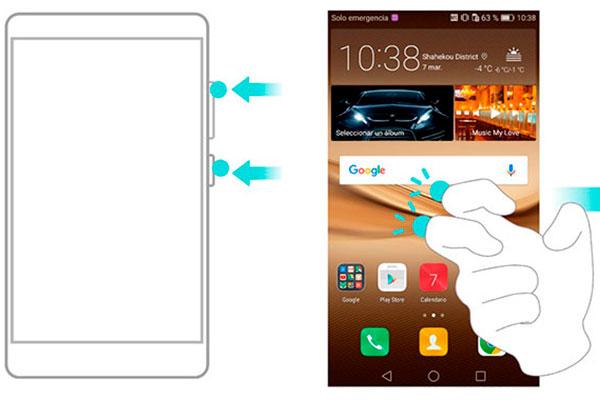 trucos Huawei Y7 grabar pantalla