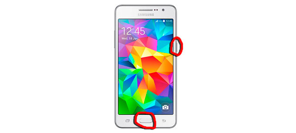 10 trucos Samsung Galaxy Grand Prime captura de pantalla