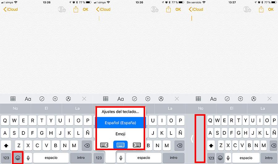 7 trucos de iOS 11 para iPhone y para iPad cambiar teclado
