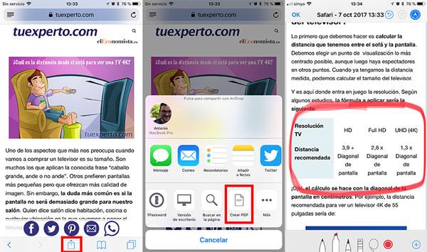 7 trucos de iOS 11 para iPhone y para iPad pdf
