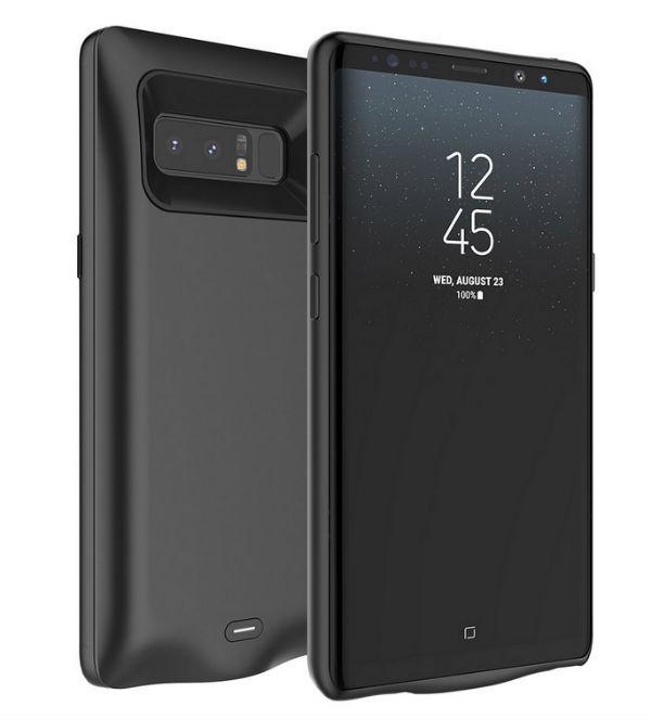 Aumenta la batería del Samsung Galaxy Note 8 con esta funda