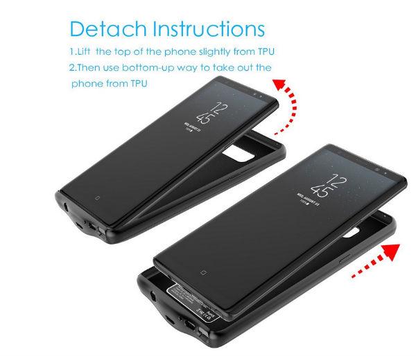Samsung Galaxy Note 8 batería