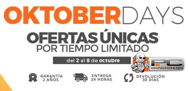 Las mejores ofertas de los Oktober Days de PcComponentes