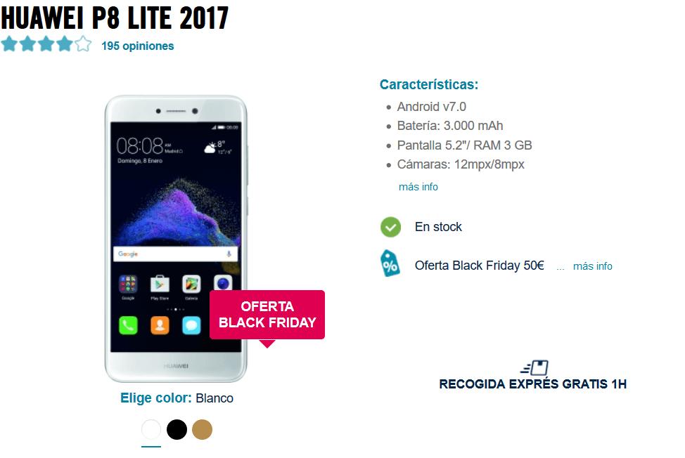 Huawei P8 Lite 2017 al mejor precio garantizado - phonehouse es