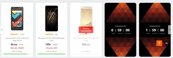 Ofertas en móviles y tablets de PcComponentes por Black Friday