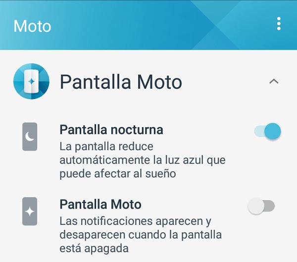 pantalla moto