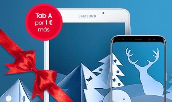 Tablet Samsung Tab A por 1 euro al comprar un Samsung Galaxy S8 y S8+
