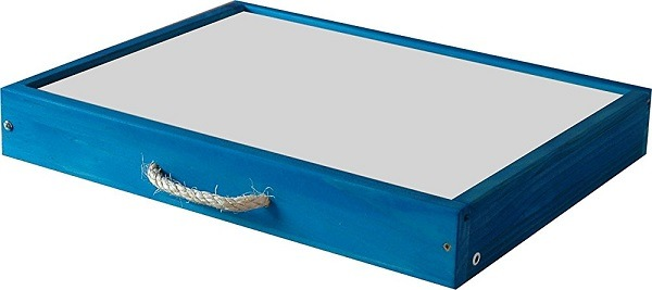 mesas luz cajas