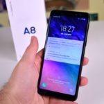 Cómo configurar los gestos del lector de huellas en el Samsung Galaxy A8 2018