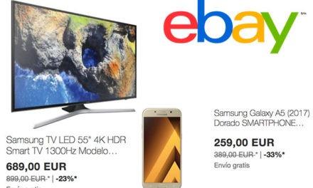 Un repaso por las mejores ofertas de eBay en móviles y teles