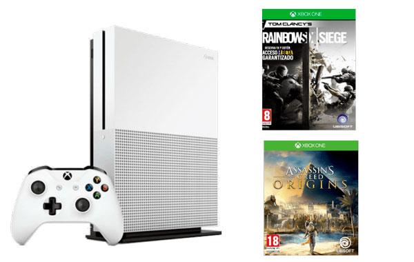 mejores ofertas rebajas Xbox One S