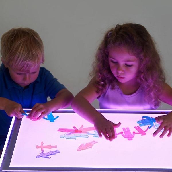 mesas luz led