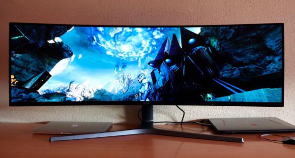 Monitor Samsung C49HG90 con casi 300 euros de descuento en Amazon