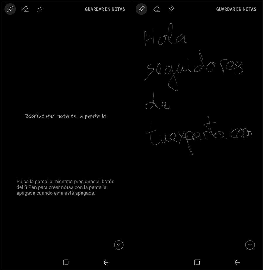 10 trucos para sacar el máximo partido al Samsung Galaxy Note 8 notas rápidas