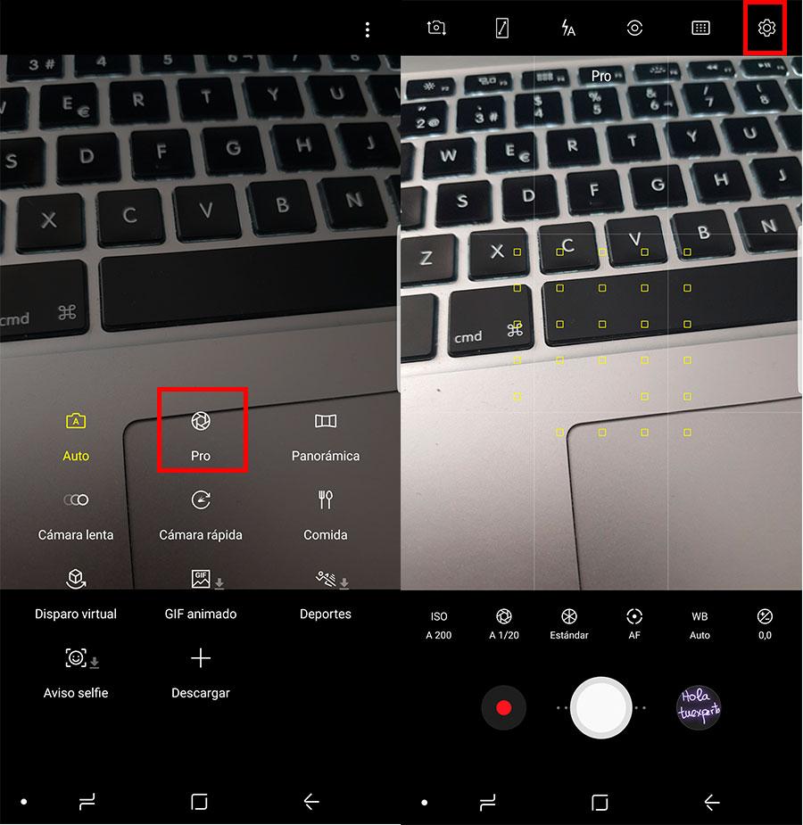 10 trucos para sacar el máximo partido al Samsung Galaxy Note 8 foto RAW