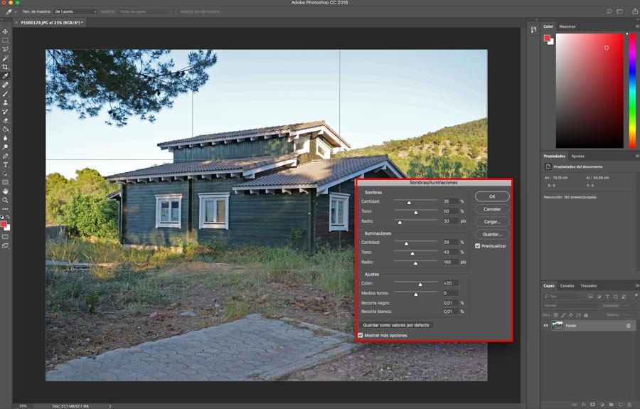 5 ajustes de Photoshop que te ayudarán a mejorar la imagen luz ajustes