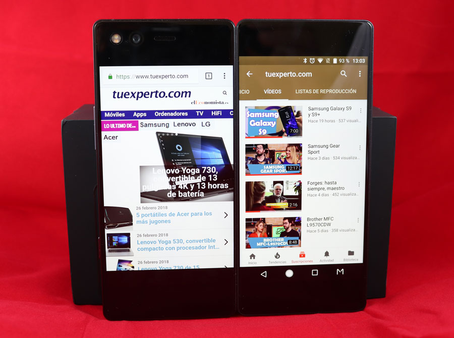 5 cosas curiosas que puedes hacer con la doble pantalla del ZTE Axon M vídeo dos apps